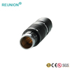 REUNION F Series - Medical Use Coaxial Push-Pull Signal Connector