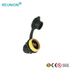 UL Approved REUNION P Series Circular Couplers Male Connectors Assembly