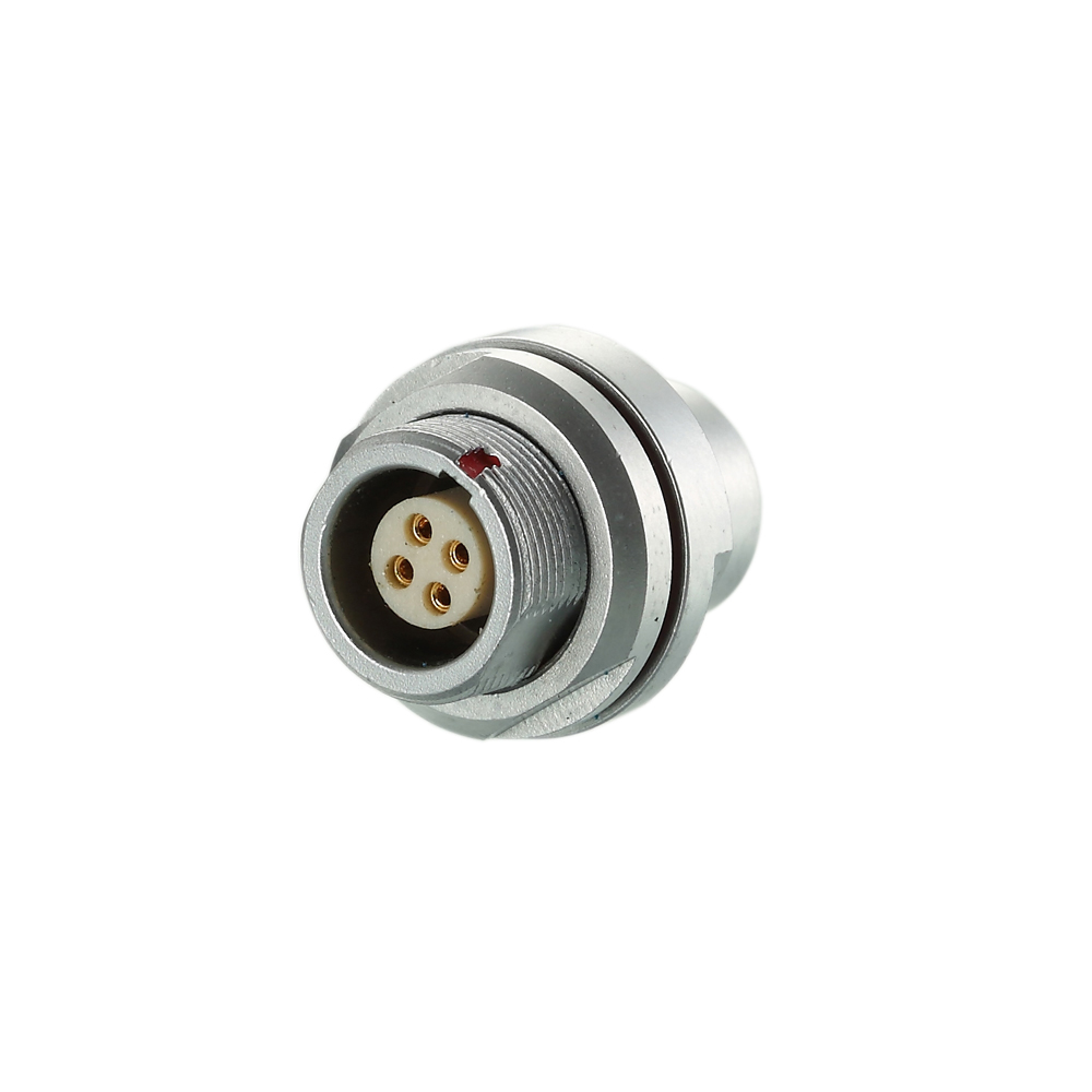 Factory Manufacture B Type Metal Housing Female Socket Connector