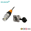 PCB.3NRJ45.CP80Y.67 - Small mini waterproof connector assembly 3pin cable IP67 LED connectors