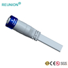 LED Lighting Outdoor Electrical Plug Waterproof 6 Pin Cable Connector