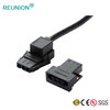 ODM/OEM Low MOQ Multi-pole Flat Plastic Connector Power To Power Plug Adapter Assembly