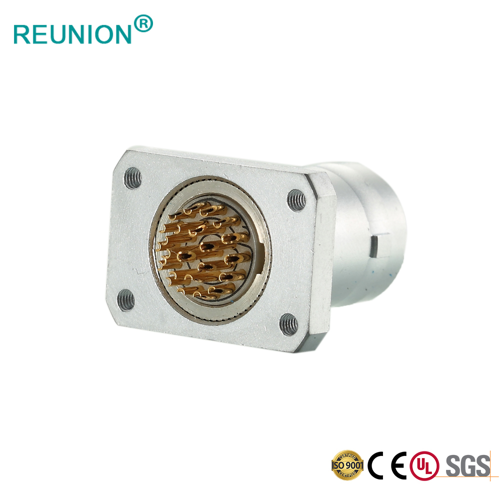REUNION FGG circular connectors metal male and female coupler wholesale
