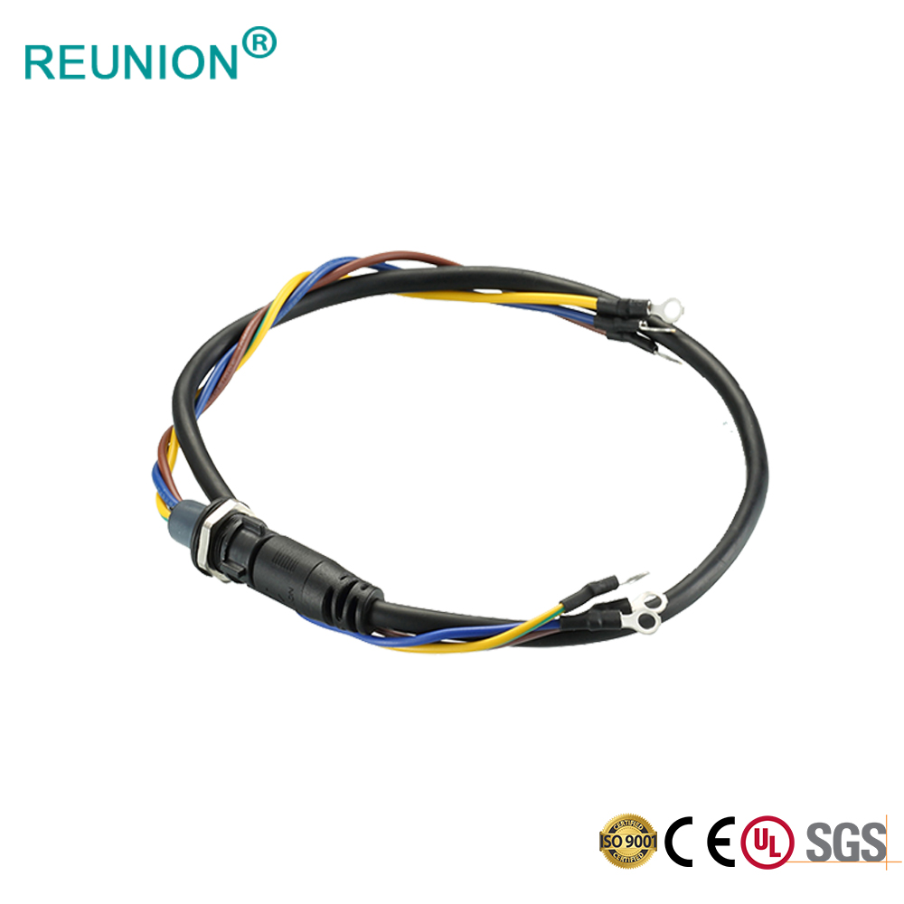 OEM/ODM Cables Assembly IP67 Waterproof Outdoor LED Lighting Connector Harness Manufacturing