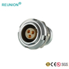 REUNION B series circular connector Metal housing full shielding medical connectors