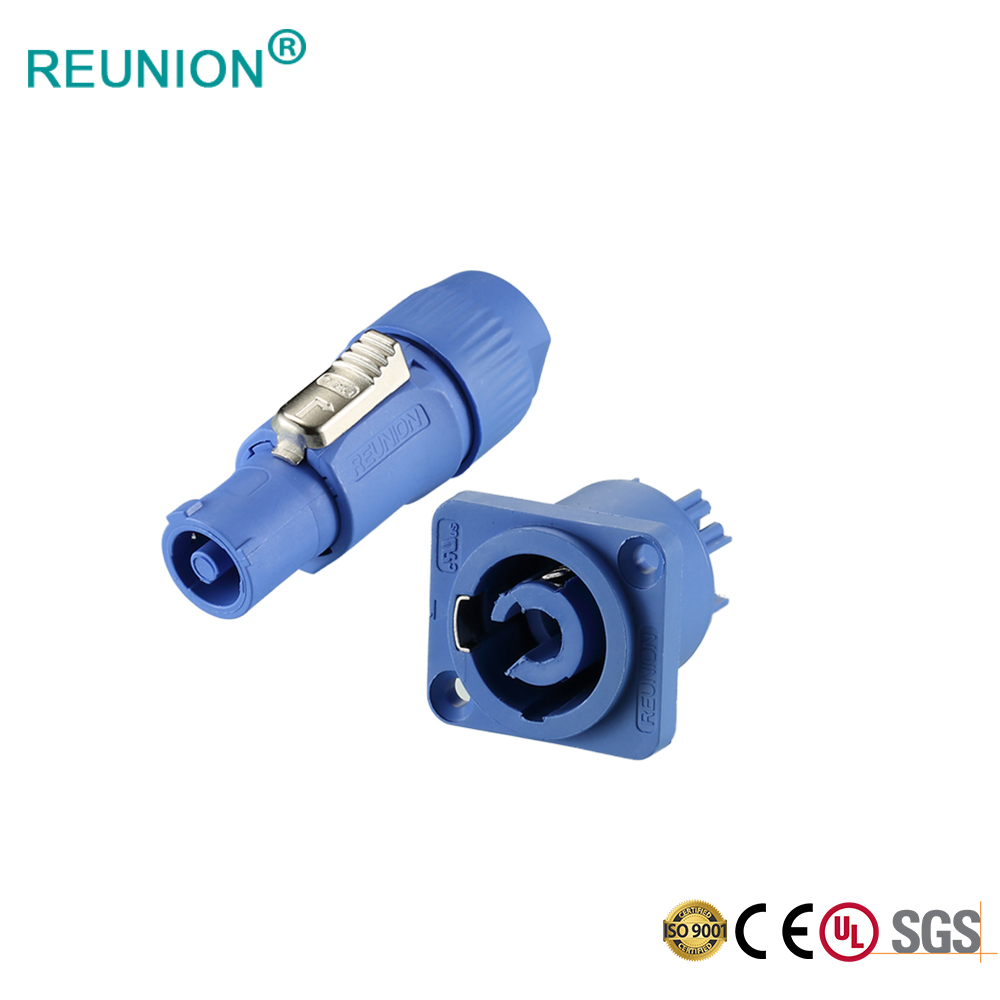 REUNION 3N Series - OEM/ODM Electrical Power Connector Male Plug Female Socket