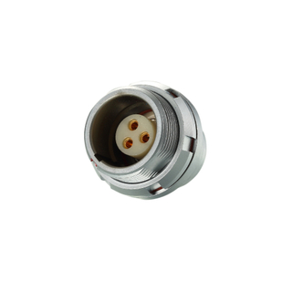 K Series Female Socket Push Pull Self-locking Electrical Receptacle