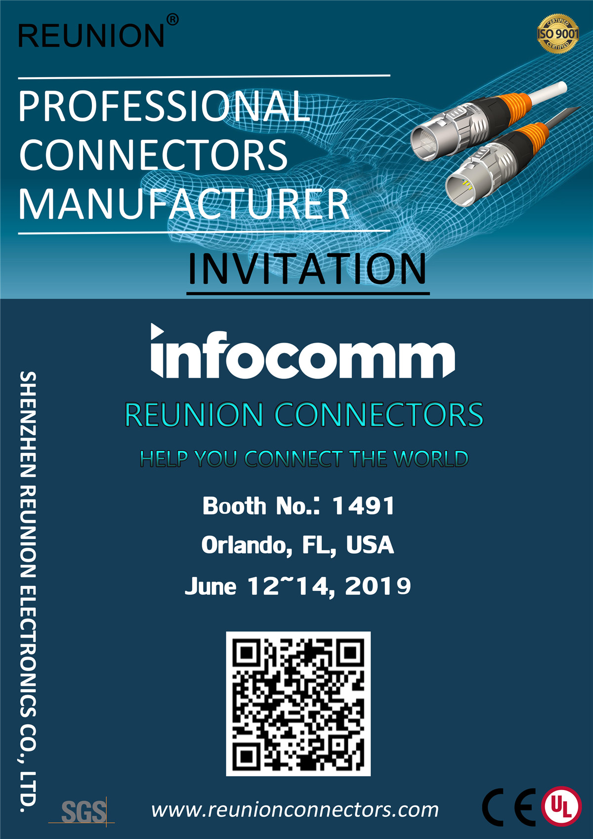 REUNION Connectors will attend Infocomm 2019