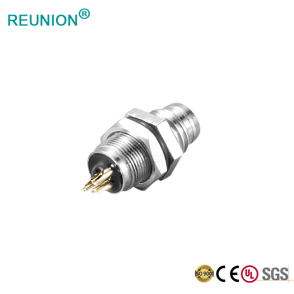 IP67 IP68 A CODE Male Female 3 Pin 4 Pin 5Pin M12 Waterproof Connector for Industrial Machine Automation