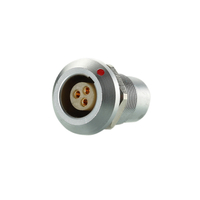 SQG EGG EGA Metal Circular Connector 2 3 4 5 6 7 9 Pin Female Receptacle