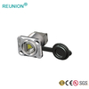8P8C RJ45 Waterproof Network Connector Quick Connect Led RJ 45 Connectors