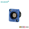 2P plastic shell16-pins male plug quick push in female socket IP65 waterproof connectors