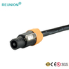 3 Pole IP65/IP67 Waterproof LED Power Connector DC to DC LED Screen Powercon Connecctors