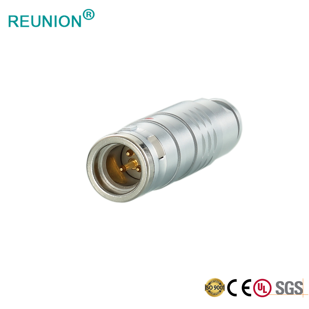 REUNION 2K308 Compatible with FGG EGG Connector Cable Coupler for Industrial Test & Measurement