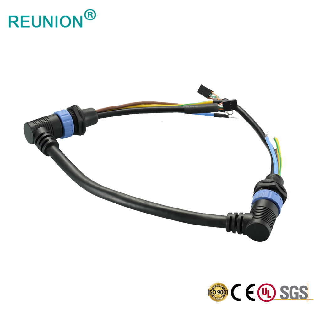 REUNION X Series - male to female aviation cable for heavy duty agricultural machine Plastic socket circular connector