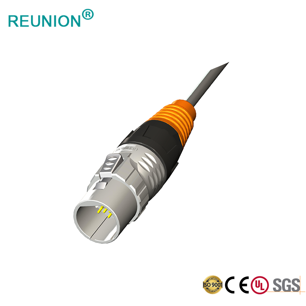 High Quality New Model 8P8C Network Jack Ethercon Connectors Male & Female Solder Cable Assembly