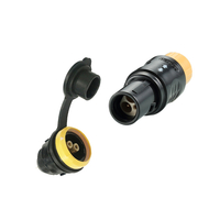 PYA.2P503.APAC.72G - Waterproof 3Pole Circular IP65 Outdoor Using Plastic Connector