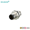 Industrial Sensor Connector Circular Male and Female M12 Multipole 2~17Pins Connectors
