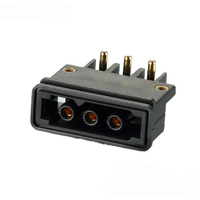 LED display power supply solution 3Pin power connector with flat cable assembly