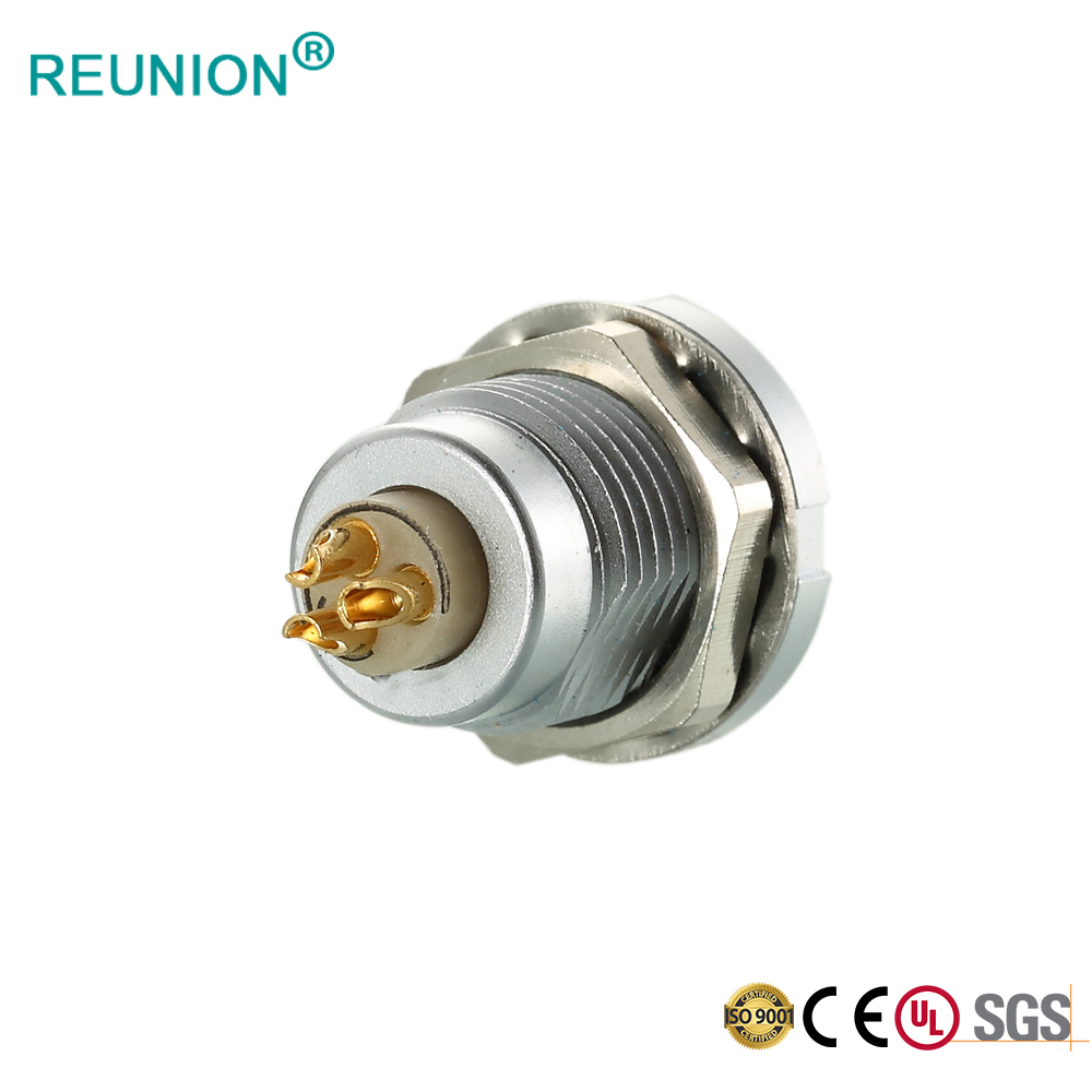 Male Solder Connector Push in Female Socket 0B Series FGG/EGG 3Pole Multipole Plug