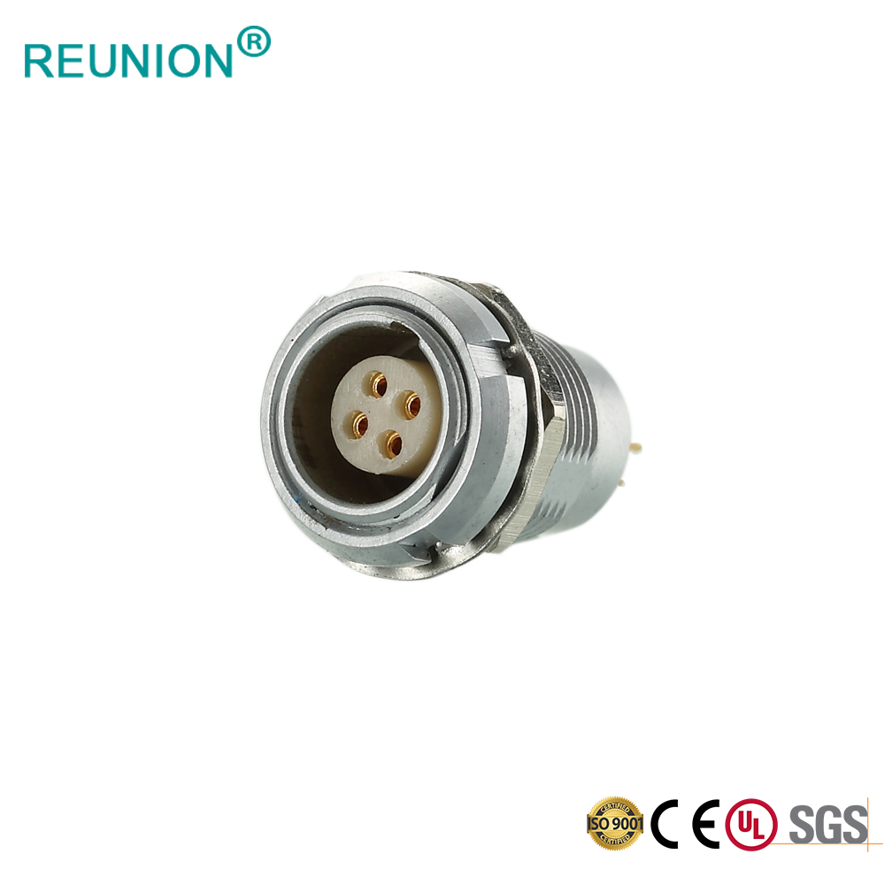 Harness Connector REUNION B series Metal Plug Socket with Cable Assembly