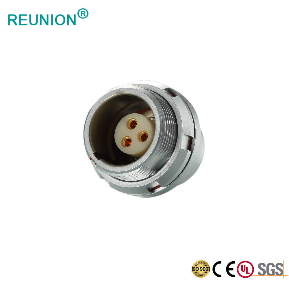 SEG.0K305.CPL - IP67 Industrial Waterproof Connector K Series 5pins Female Receptacle