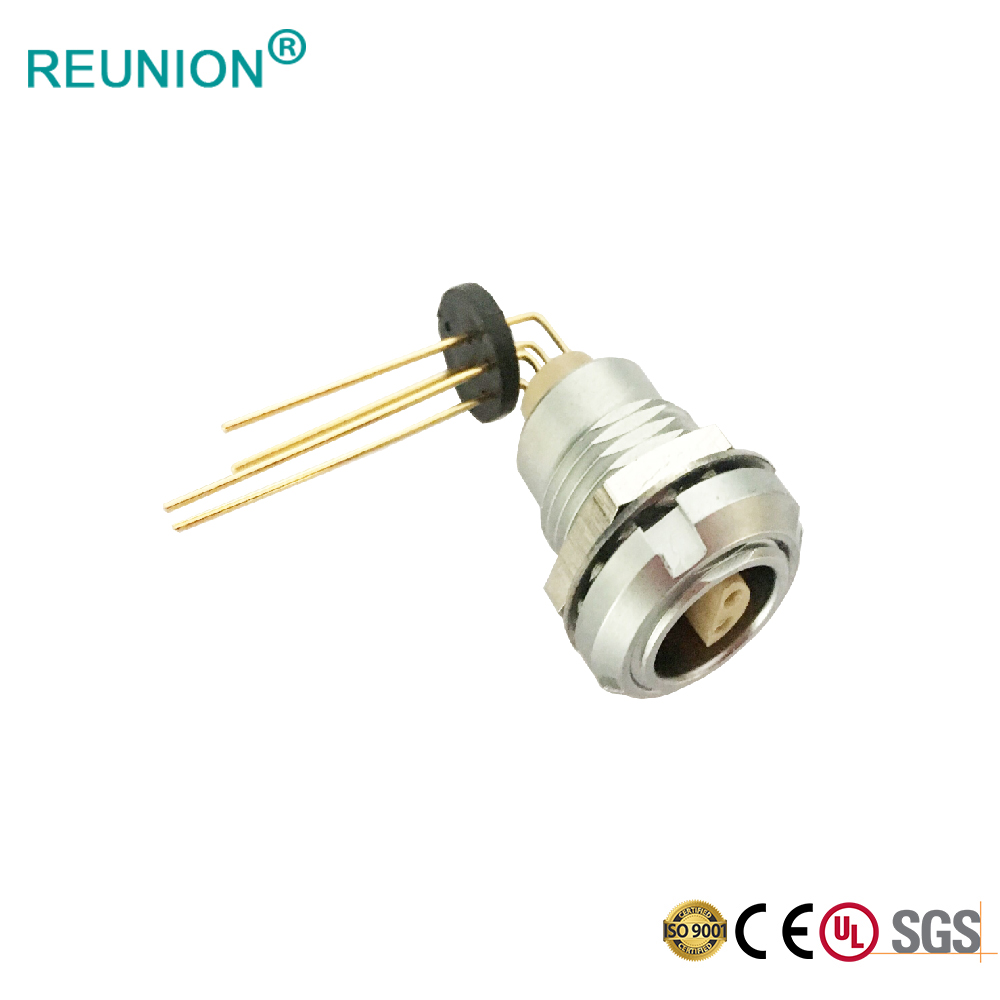S Series Multipole Fixed Self-Locking Push Pull Connector for Panel Fixing