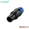 REUNION custom plastic cable assembly 8pins female socket with RJ45 connector