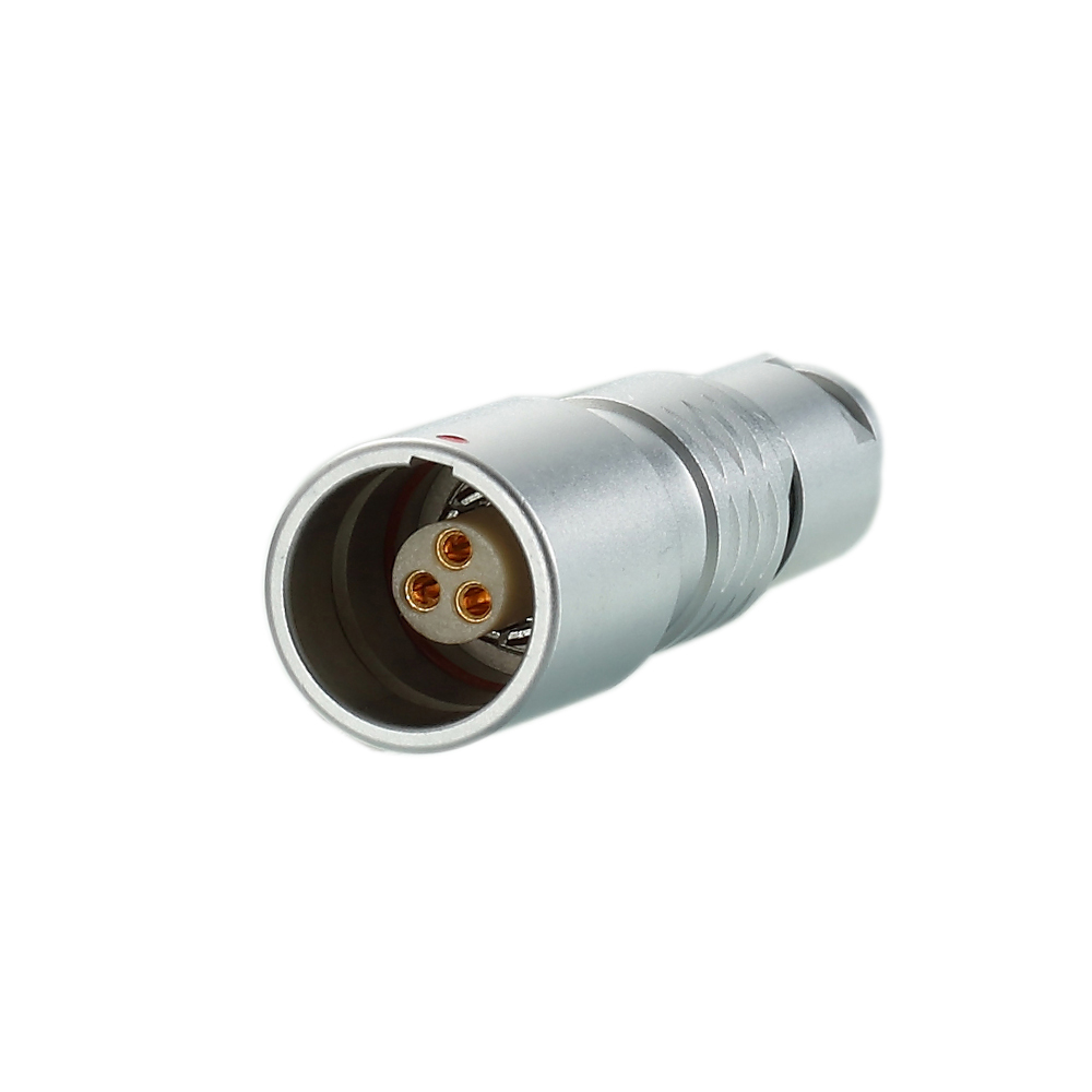 Push Pull Circular IP67/IP68 Waterproof 14Pin Free Socket Connector